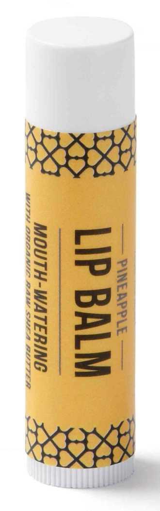 """100% Natūralus išsukamas lūpų balzamas (5ml) """"Ananasas"""""""