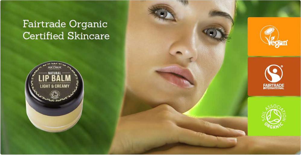 Fairtrade Organic Certified Skincare